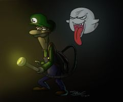 Luigi's mansion by chico-nube