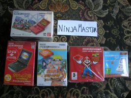 Console Gba Sp by ninjamaster76