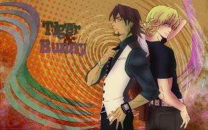 Tiger and Bunny 1920x1200 by Sarkanybaby
