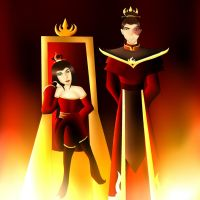 Prize: Fire lord and Lady by xlollx