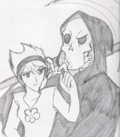 animehphantom Request: Grim x Mandy by Zero-Kiba