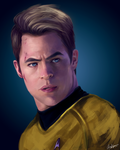 James T. Kirk by Chickenese