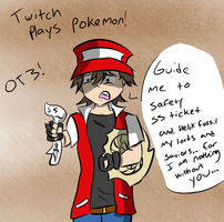 Twitch plays Pokemon by LagPatrol