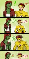 Young Justice - Hey look by Drakyx