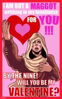 Skyrim Valentine: The Priest of Talos by SlayerSyrena