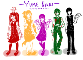 Yume Nikki- Enjoy Your Brix by OrangeSpeck