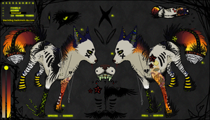 Zilliandra Ref by blackdog-badomen