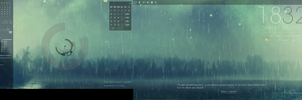 Desktop Theme: Strobelight by Naeru