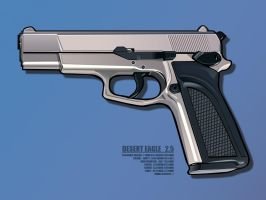 Desert eagle 2.5 by Zillion