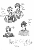 Heredity Cast 1 Sketch by suizome