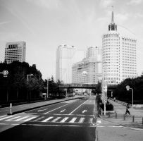 Downtown Chiba, Japan by selivus