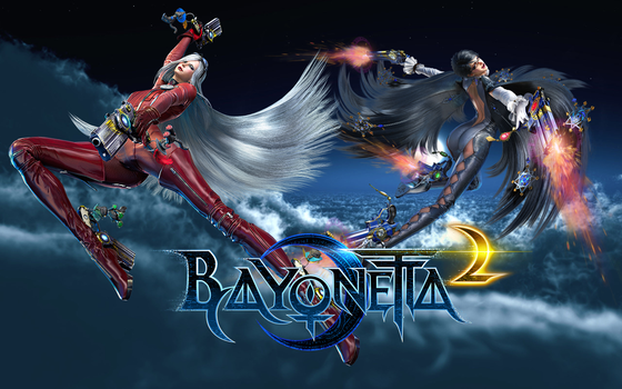 Bayonetta 2 background by Proverbiallemon