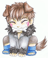A pup named Kiba by Kiwibon