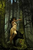The dryad by ChrisRa
