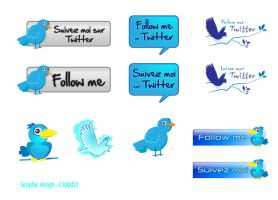 twitter pack button by C100D17