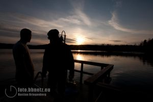 Erasmus Finnland 2012 - The lake in the evening by Avalarion