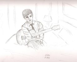 .:Logan Lerman:. by SquirrelGirl15