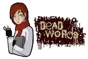 Dead Words Logo by Digital-Skitty