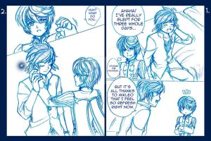 TOZ Comic 2 Pg 1 and 2 by Alasse-Tasartir