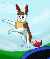 Chi Leaps by Squiggy13