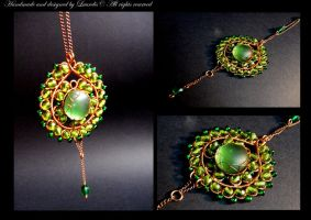 Candy in green by Laurelis