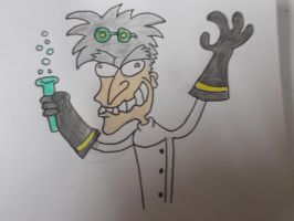 Mad Scientist by tristix