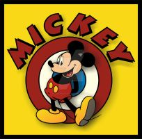 MICKEY MOUSE by JUSTINaples