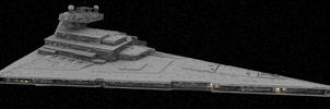Imperial Star Destroyer by Imrayya