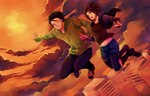 AT: Through the Sky by hirappon