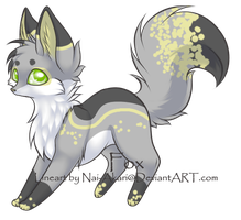 fox adopt -closed- by gold-adopts