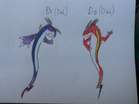 Dual Dragon Spirits - Da and Do (plz comment) by Shelby95