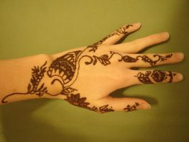 Henna Design - wet by Melfina195