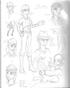 FLD sketches by STsketch