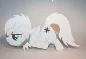 Wooden custome Pony by Gwyndbleidd13