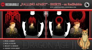 FALLING APART Anders Shirts - on RedBubble by CheetagonZita