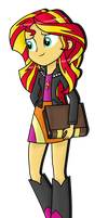 Sunset Shimmer by MixiePie