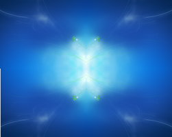 HD windows 7 wallpaper blue by tonev