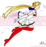 Sailor Moon by meiken