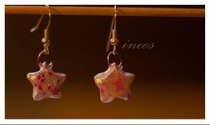 lucky earrings by ineos