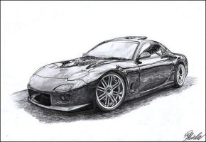 Mazda RX7 by Renet555