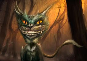Cheshire Cat by lee-orr