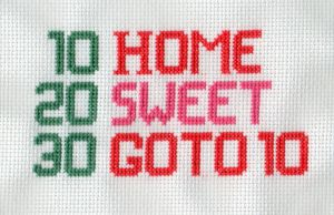 Home Sweet Programmer by StitchPlease
