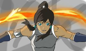 Korra on Colors! 3D by martijnkh