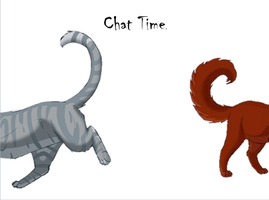 Chat Time Everybody by ask-bone-and-ashfur