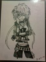 Shaded Gamer Scene Girl by Lifeless-Endless