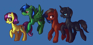 The train crew by Tracyelicious