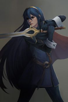 Lucina by yagaminoue