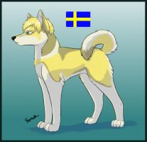 Dogtalia: Sweden by PurplePandog