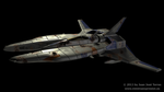 Vic Viper from Gradius saga (v2) by JuanJoseTorres