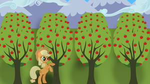 Applejack Wallpaper by BronyAustralia